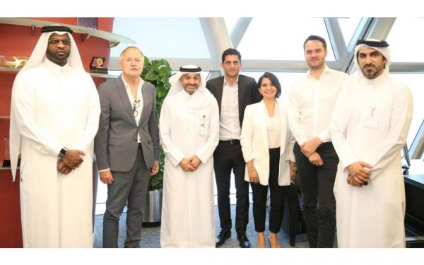 Al-Kuwari and Al-Ghanim receive the delegation of the FIFPro