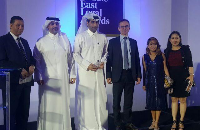 جائزة أفضل إنجاز قانوني لرئيس الرابطة